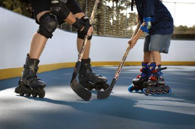 Roller Hockey Court for Inline Skating